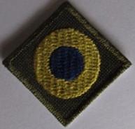 Кокарда вышитая - флаг Украины 2,5*2,5см