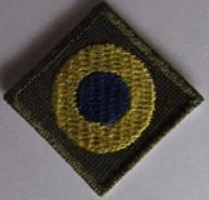 Кокарда вышитая - флаг Украины 2,5*2,5см, фото 2