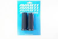 """Рукоятки руля 90 мм под грипшифты (чёрные) GR-56 (комплект) """"Avanti"""""""