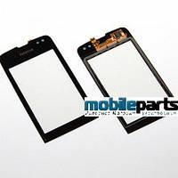Оригинальный Сенсор (Тачскрин) для Nokia Asha 311 (Черный)