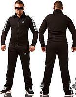 Мужской спортивный костюм Adidas \ черный