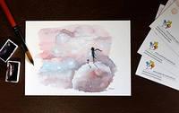 """Скидка на одну открытку из серии """"Маленький принц"""""""