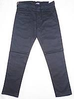 Брюки темно-синие на мальчиков, 140 - 164 см