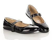 Туфли-балетки черные 34,35,37 рзм. (Д)