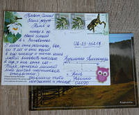 Как подписать и оформить открытку для посткроссинга?