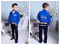 Костюм для мальчика рубашка и штаны 2198 ЕВ, фото 1