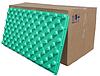 Теплоізоляційна плита (мат) для укладання теплої підлоги 100 Х 50 Х 5.5 см Щільність 35