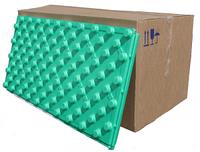Теплоизоляционная плита (мат) для укладки теплого пола 100 Х 50 Х 5.5см  Плотность 35