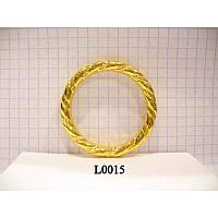 Кольцо косичка литое усиленное 40 мм (100 шт)