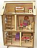 """Кукольный домик """"Алиса"""" с мебелью для Pony, Winx (mini), Steffi, Evi (12 см)"""