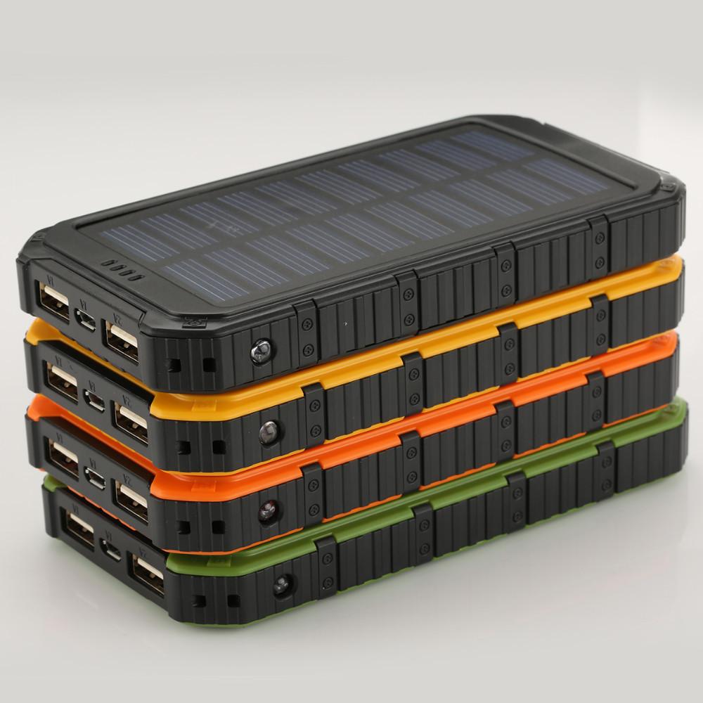 Power Bank с Солнечной батареей 15000 мА Акция !!