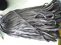 Шнур х\б плоский 11 мм ширина светло-серый (100 метров)