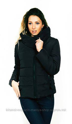 Куртка демисезонная осень,весна женская, наполнитель силиконизированный синтепон 150