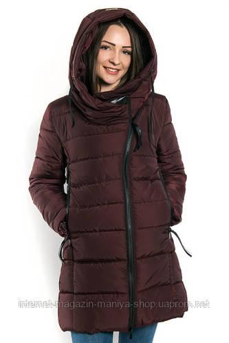 Пальто женское, наполнитель силиконизированный синтепон 200