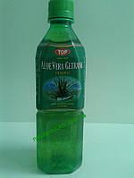 """Напиток безалкогольный негазированный """"Алое Вера-оригинал"""" из сока алое с кусочками Алое Вера, 500 мл"""