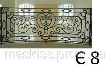 Кованые балконны