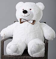 Медведь большой, мягкий ( белый ) 110 см
