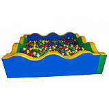 Сухой бассейн квадратный Д 214*Ш 214*В 60, фото 2