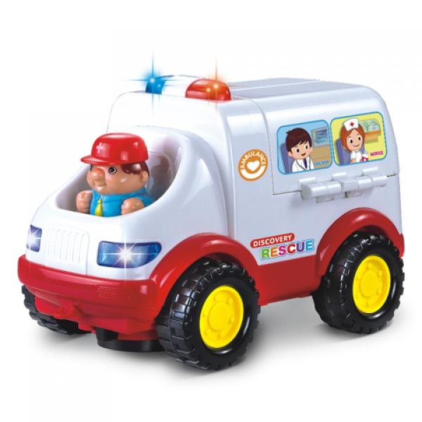 Машина Скорая помощь- Амбулатория с набором доктора