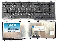 Оригинальная клавиатура для Fujitsu-Siemens LifeBook A532, AH532, N532, NH532, black, ru