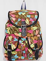 Рюкзак стрекоза коричневый, фото 1