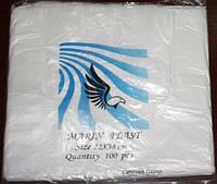 Пакеты полиэтиленовые майка №1 маринпласт 22-38см /уп.100шт