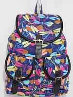 Рюкзак стрекоза синий, фото 1