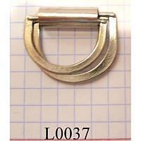 Полукольцо-книжка литое 20 мм (1000 шт)