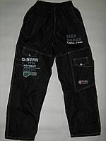 Спортивные штаны плащевка подросток, от 5шт-19гр.