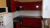 Кухня «Black Red White» глянец