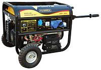 Бензиновый генератор FORTE FG8000EA с блоком автоматики на 6,5 кВт. 220 V