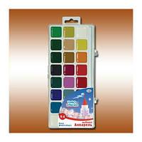 Краски акварельные Гамма Чудо-Краски 24 цветов в пластиковой упаковке (212077)