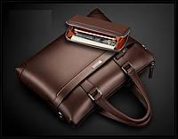 Мужской кожаная сумка.. Модель 04277, фото 4