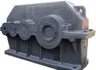 Редуктор цилиндрический горизонтальный трехступенчатый 1Ц3У-355-63