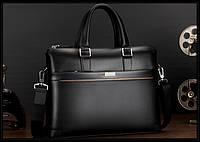 Мужской кожаная сумка.. Модель 04277, фото 6