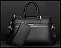 Мужской кожаная сумка.. Модель 04277, фото 7