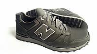 Кожаные кроссовки NB cruz black night