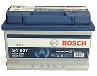 Аккумуляторы Bosch S4EFB 65Ah / пусковой ток 650A
