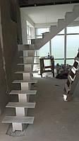 Лестницы на прямом косоуре любых размеров, фото 1