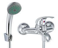 Смеситель для ванны с душевым комплектом Invena Inis BW-84-001 Хром