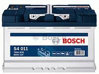 Аккумуляторы Bosch S4EFB 80Ah / пусковой ток 730A