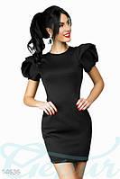 Коктельное платье с рукав-фонарик