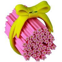 """Палочка фимо """"Нежно-розовый цветок кипариса"""""""