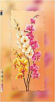 """Схема для вышивки бисером на подрамнике (холст) """"Ветки орхидеи"""""""