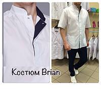 Медицинская мужская куртка Brian