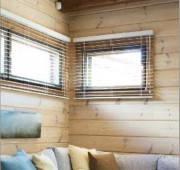 Внутренняя отделка деревянных стен и потолка