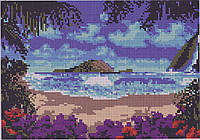 Схема для вышивания бисером Остров О-129