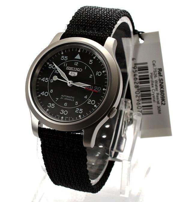 Часы Seiko 5 Military Automatic SNK809K2