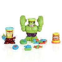 Игровой набор пластилина Play-Doh Битва Халка. Оригинал Hasbro
