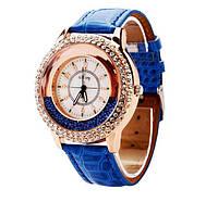 Наручные женские часы с кристаллами код 109
